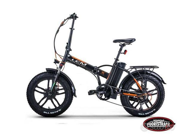 "Lem Motor E-Bike 250W 48v Pieghevole R 20"""