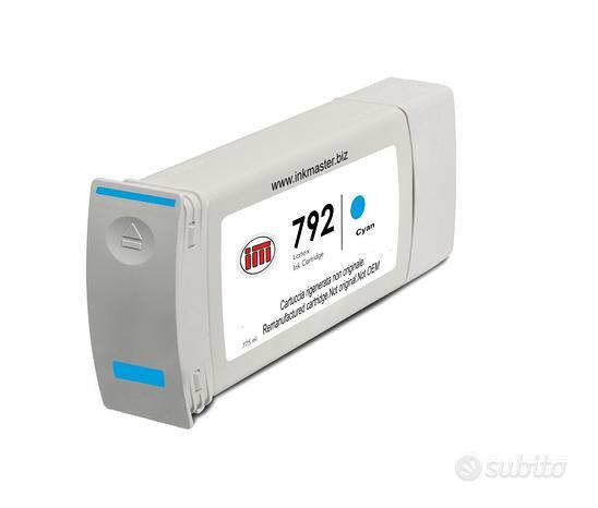 Cartuccia rigenerata HP 792 CYAN CN706A