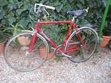 Bicicletta da corsa Romani stile vintage