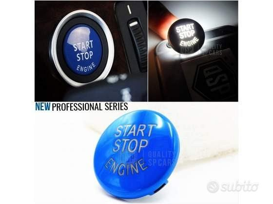 PULSANTE Start Stop BLU BMW serie 1 3 5 X TASTO M