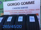 Gomme 265/45/20