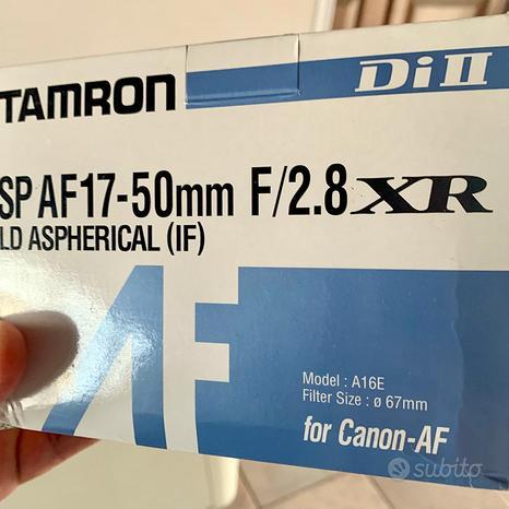 TAMRON SP AF17-50mm F/2.8 XR LD ASPHERICAL (IF)