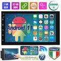 2 Din 7 pollici Android 11 GPS WIFI Bluetooth Alto