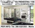 Letti a Scomparsa Roma _ Letto Matrimoniale VE459