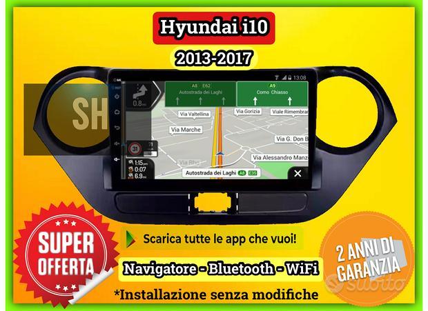 Navigatore full touch Hyundai i10 | 2013-2017