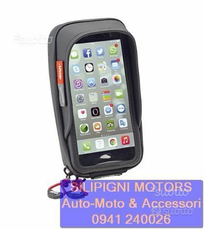 Givi s957b porta smartphone universale moto manubr