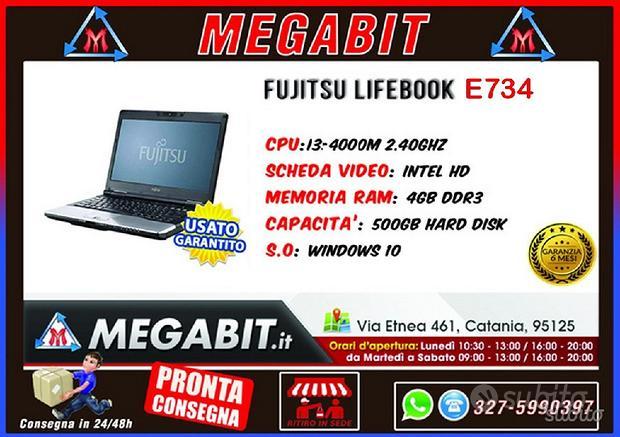 Notebook Fujitsu E734 13,3