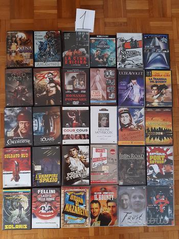 DVD usati film vari serie TV cofanetti lotto A-C