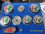 LOGO Alfa Romeo LOGO RUOTE E COFANO e volante ec