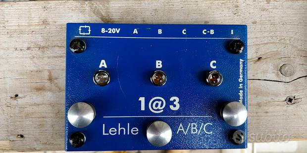 The Lehle 13 Amp Switcher Pedal