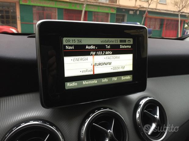 "Navigatore mercedes a b cla android wifi hd 8"" hd"