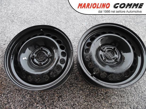 Cerchi in ferro (2) usati Opel e G. Punto x 15