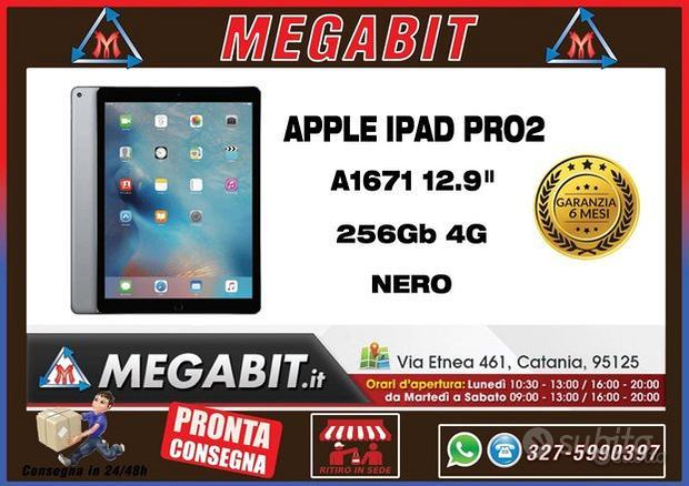 IPad Pro2 12,9 A1671 256Gb WIFI 4G Nero Garanzia
