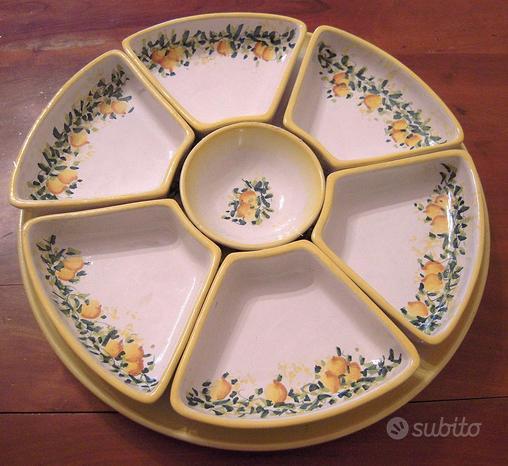 Set antipasti ceramiche di vietri