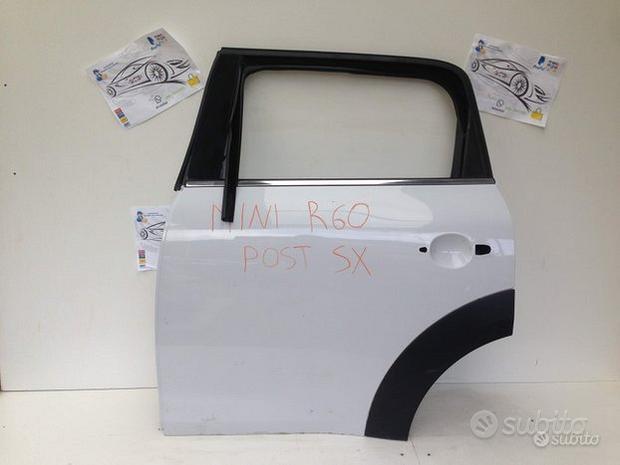 Porta portiera sportello post sx sinistro mini cou