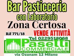 BAR PASTICCERIA con laboratorio in zona Certosa