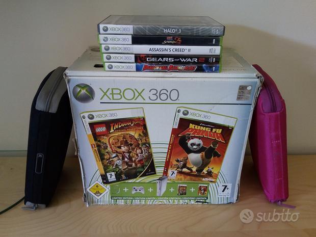 Xbox 360 60 gb boxata completa + giochi originali