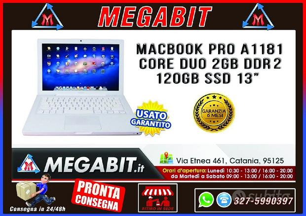 MacBook Pro A1181 Core Duo 2Gb RAM 120Gb SSD