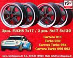 Set cerchi 7x17 + 8x17 Porsche 911 Carrera Turbo