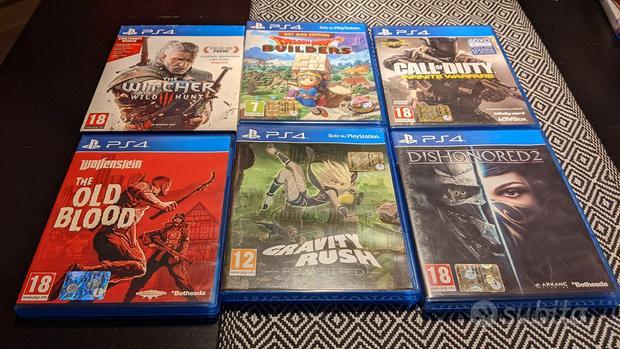 Giochi per PS4 PlayStation 4