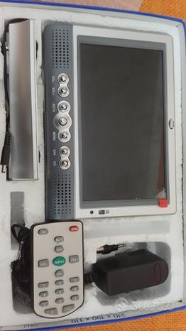 """Mini tv portatile lcd 7"""" mld-705"""