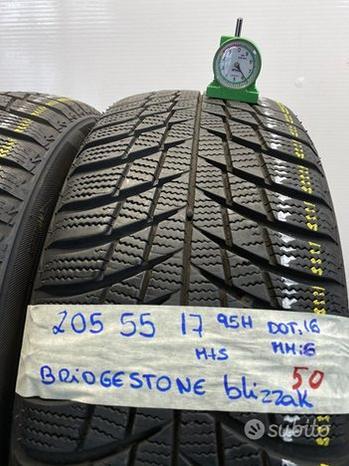 Bridgestone bizzak 205 55 17