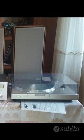 Impianto stereo pioneer anni 70 80