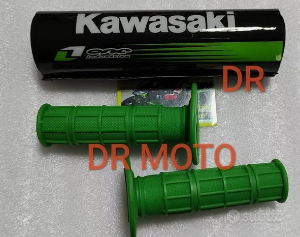 Kit paracolpi e manopole pit bike quad