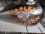 Decal serbatoio copia Harley davidson malboro man