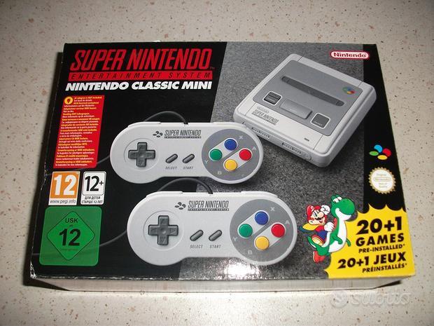 Nintendo snes mini nuovo mai usato new in box