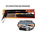 Kit completo 4 Deflettori laterali Jeep Renegade