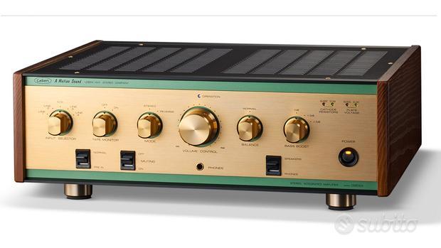Amplificatore Valvolare Leben CS600X