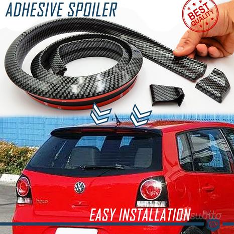 SPOILER Posteriore per Volkswagen Lama CARBONIO