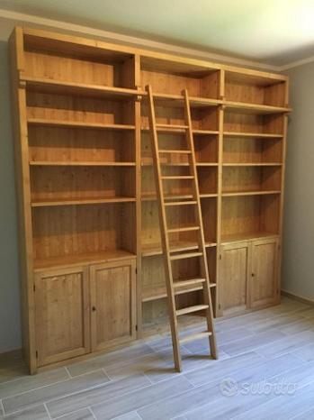 Librerie soggiorno su misura