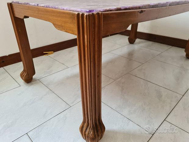 Tavolino ametista salotto