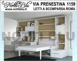 Letto a Scomparsa Matrimoniale SE313 V. PRENESTINA