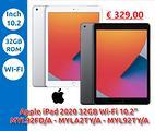 """Tablet apple ipad 2020 (8ª gen.) 32gb wi-fi 10.2"""""""