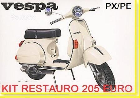 VESPA PX 125 150 200 KIT Restauro Accessori P X E
