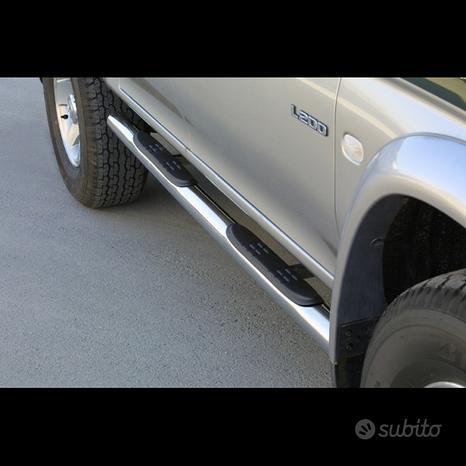 Mitsubishi L200 Pedane tubolari inox
