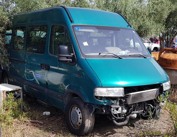 Ricambi renault master 2003 minibus sigla G9T C7