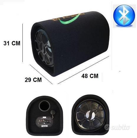 Subwoofer amplificato 600w bluetooth USB SD RCA