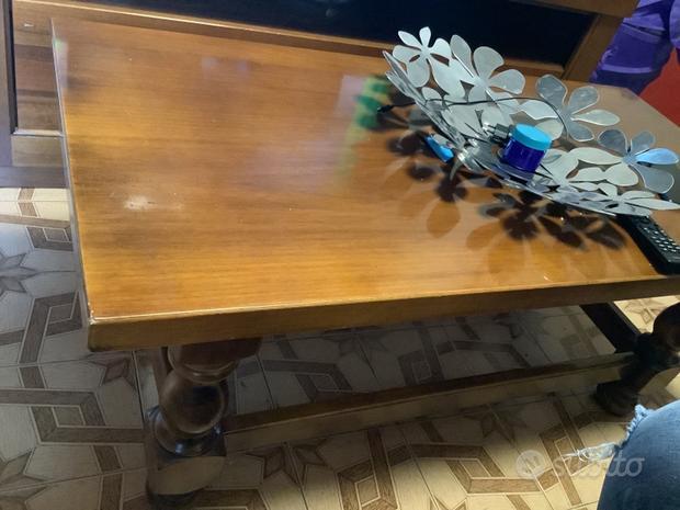 Tavolino in legno massiccio Made in italy
