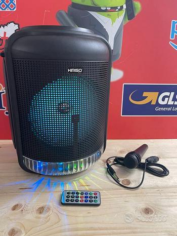 Cassa 1000 watt portatile Bluetooth