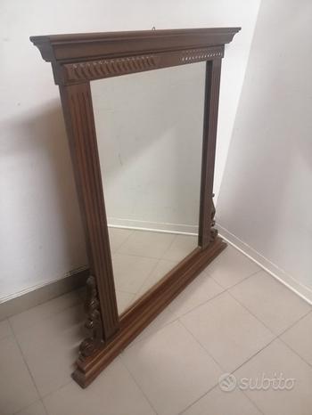 Specchio specchiera in legno l109x104h