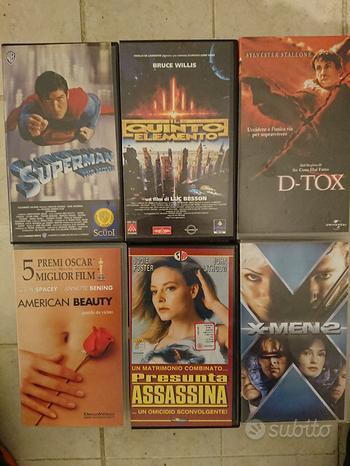 Film in videocassetta VHS 3