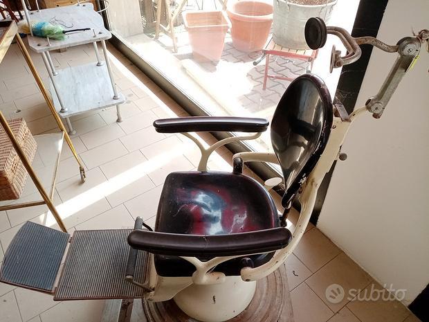 Vecchia poltrona da dentista anni '50 / '60