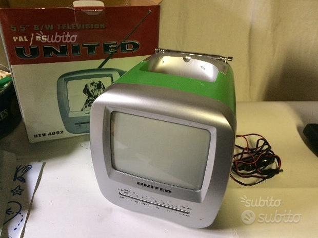 Mini TV portatile vintage