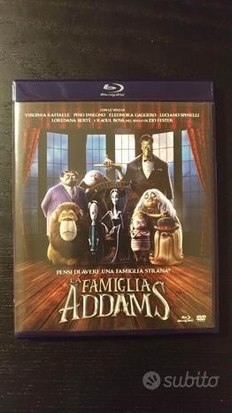 La famiglia addams (blu ray + dvd + booklet)