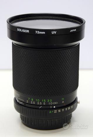 Obbiettivo SOLIGOR 28-105 mm Zoom+ Macro