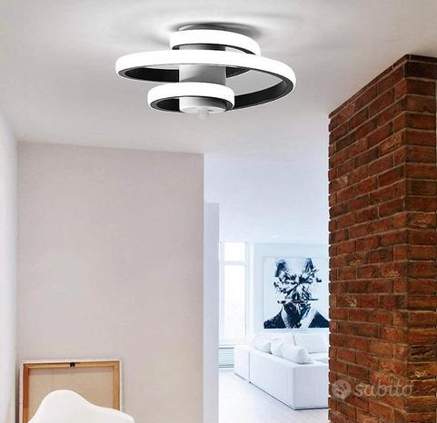 Lampada da soffitto led moderna